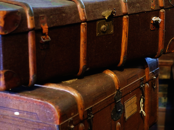 Hotel-Bonegilla suitcases from Hothouse