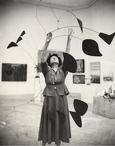 Calder mobile Guggenheim