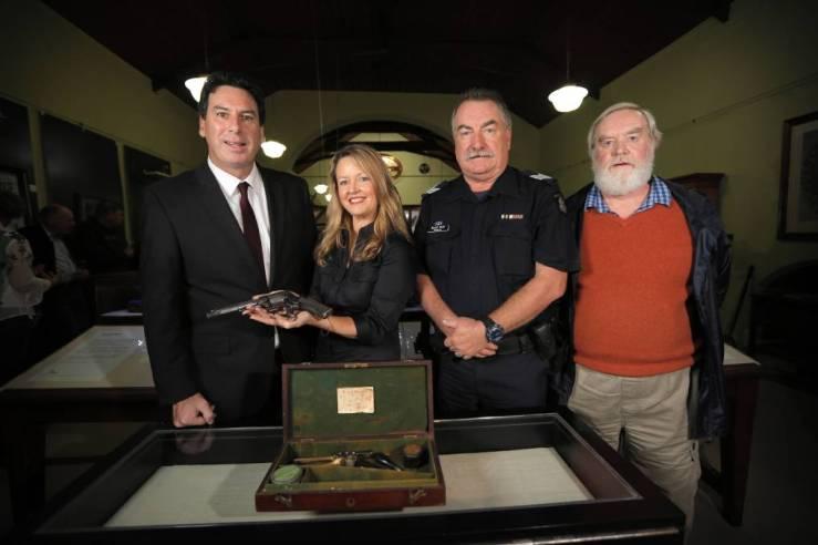 Burke Museum pistol back home Border Mail